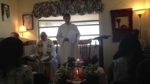 La Rvda Judy Beamount y la Rvda Judy Lee con la Comunidad del Buen Pastor en Fort Myers