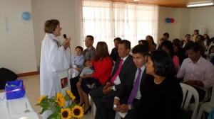 Saludo de Bienvenida e inicio de la celebración Eucarística