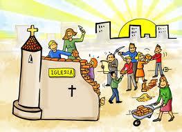 Mujeres y hombres, jóvenes,niños/as,abuelos/as construyendo la Iglesia