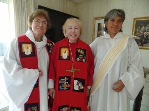 Olga Lucia Alvarez, Bridget Mary y Judith Bautista
