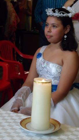 María José Ruiz Jaramillo el día de si Primera Comunión