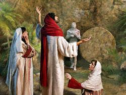 """Jesús entrega su mensaje más preciado a Marta: """"Yo soy la resurrección y la vida"""" Juan 11:1:45"""
