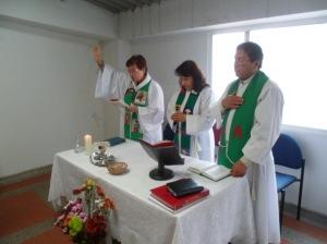 Celebrando una Eucaristía ecuménica