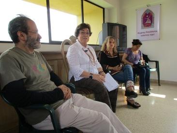 "Saludo e inicio del compartir testimonial ""De la lectura Popular de la Biblia al sacerdocio femenino"" por Olga Lucia Álvarez B. ARCWP"