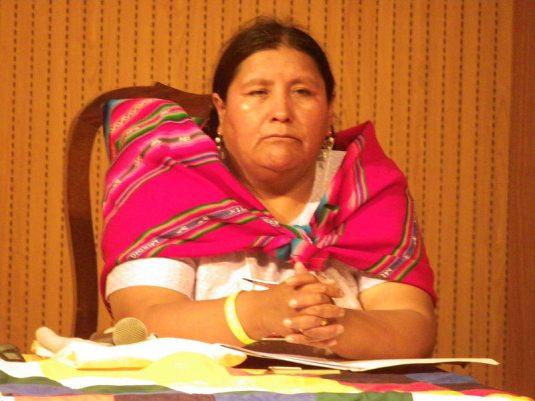 Vicenta Mamani -indígena-teóloga-