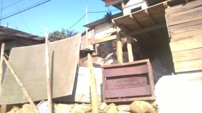 Algunos aspectos del barrio donde vive la familia de Carlos Albeiro
