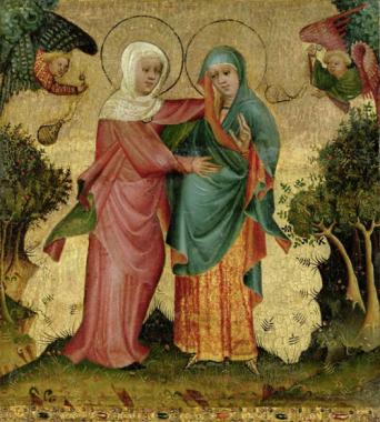 Resultado de imagen para La visita de Maria a su prima isabel