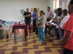 Las mujeres del Huila dirigen la celebración.