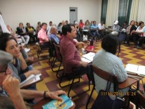 Aspecto parcial de los asistentes al Encuentro