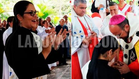 En Timaná (Huila) ordenan a la primera mujer sacerdote de Colombia