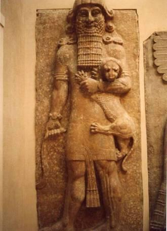 Posible representación del rey Enkidu.